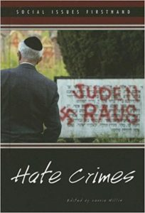 Anti-racist school text book on hate crimes.